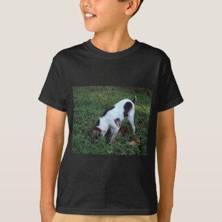 結果のための発掘 Tシャツ