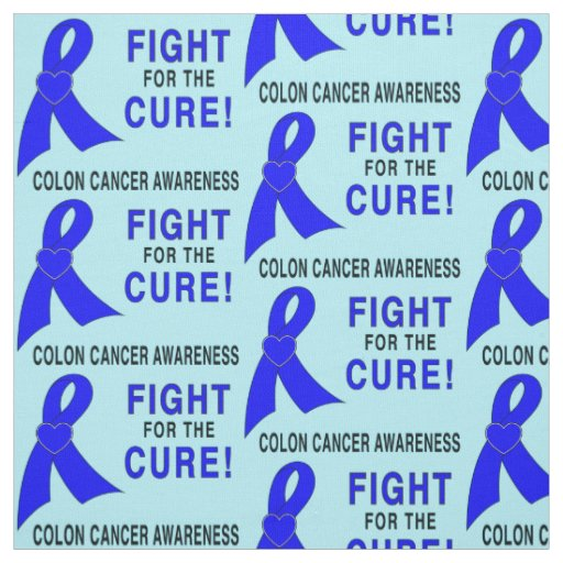 結腸癌の認識度: 治療のための戦い! ファブリック