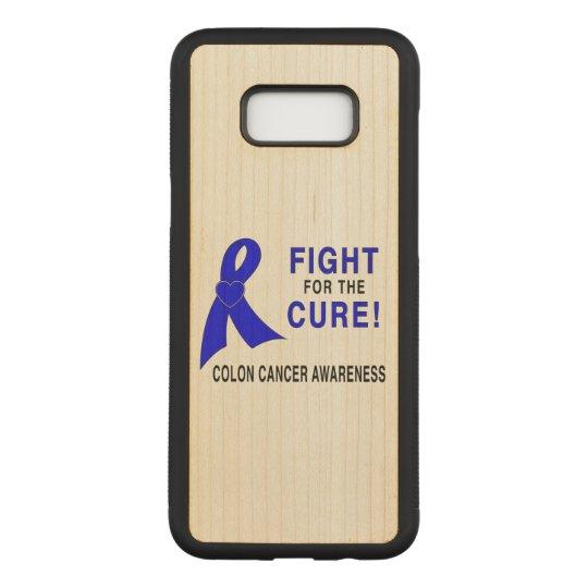 結腸癌の認識度: 治療のための戦い! CARVED SAMSUNG GALAXY S8+ ケース