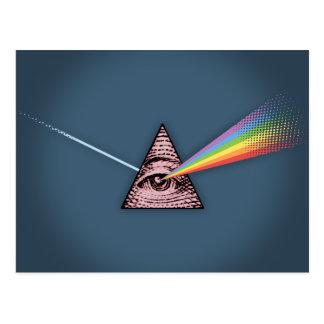 結膜炎Illuminatis ポストカード