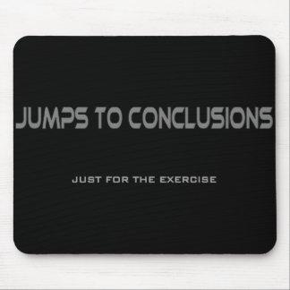 結論へのジャンプ マウスパッド
