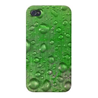 結露のiPhone 4の光沢のある終わりの場合 iPhone 4/4Sケース