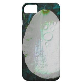 結露のiPhone 5カバーが付いている花弁を開花して下さい iPhone SE/5/5s ケース