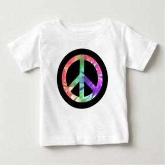 絞り染めの平和 ベビーTシャツ