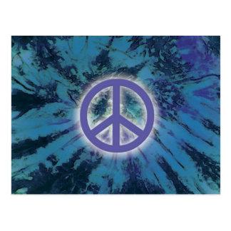 絞り染めの平和 ポストカード