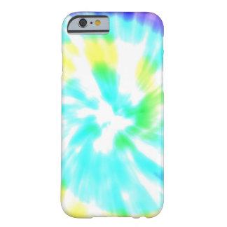 絞り染めの水彩画のパステルのヒップスターのイカットパターン BARELY THERE iPhone 6 ケース