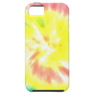 絞り染めの水彩画のパステルのヒップスターのガーリーなパターン iPhone SE/5/5s ケース