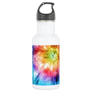 絞り染めの水彩画 ウォーターボトル