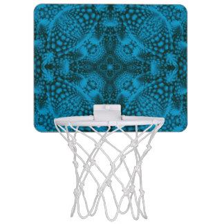 絞り染めの空の小型バスケットボールのゴール ミニバスケットボールネット