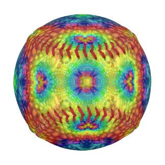 絞り染めの空2のカラフルの野球 ベースボール