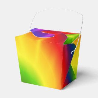 絞り染めの虹 フェイバーボックス