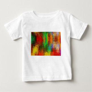 絞り染めの質 ベビーTシャツ