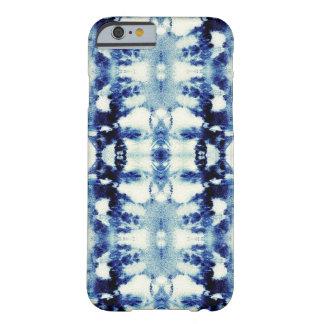 絞り染めの青 BARELY THERE iPhone 6 ケース