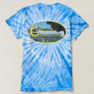 絞り染めのOcalaの生活 Tシャツ
