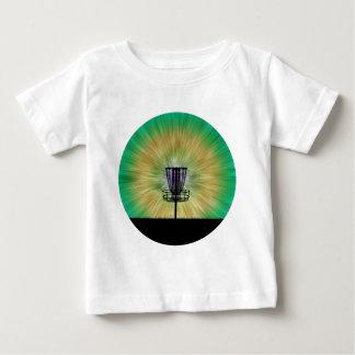 絞り染めディスクゴルフバスケット ベビーTシャツ
