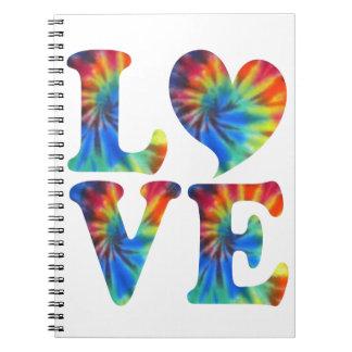絞り染め愛 ノートブック