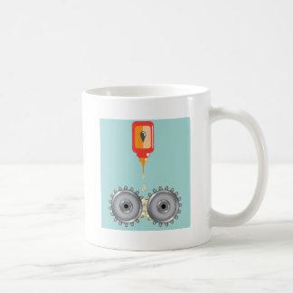 給油ギアのベクトル コーヒーマグカップ