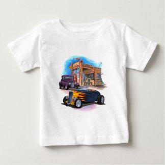 給油所は改造しました ベビーTシャツ