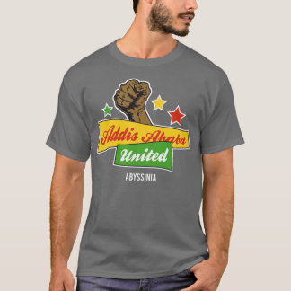 統一されたなアディスアベバ Tシャツ