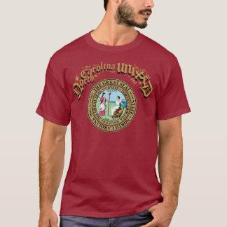 統一されたなノースカロライナ Tシャツ