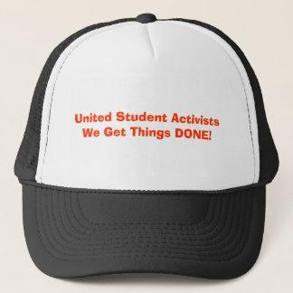 統一されたな学生活動家のトラック運転手の帽子 キャップ