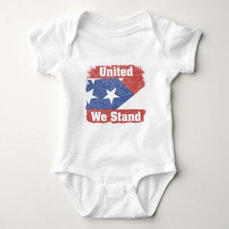 統一された私達はアメリカを立てます ベビーボディスーツ