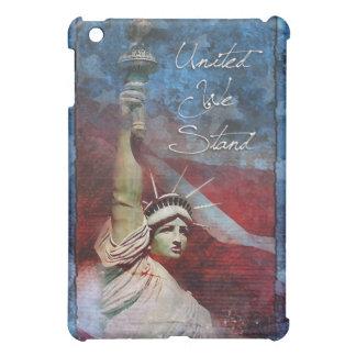 統一された私達は愛国心が強いipadのフォリオの箱を立てます iPad mini case