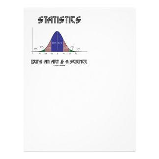 統計量芸術及び科学両方(鐘のカーブ) レターヘッド