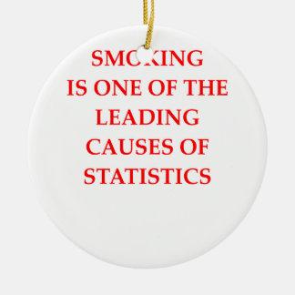 統計量 セラミックオーナメント