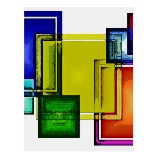 絵の具箱のブランド ポストカード