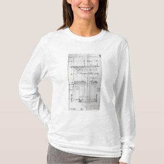 絵を描かれるIssacの家の外面 Tシャツ