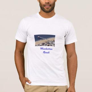 絵を描かれるManhattan Beach桟橋ManhattanBeach Tシャツ