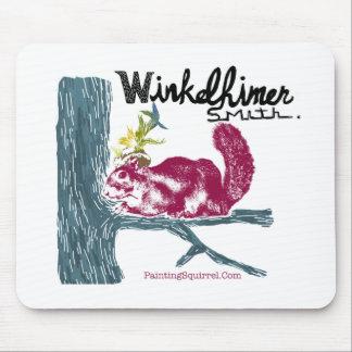 絵画のリス、Winkelhimerスミス マウスパッド