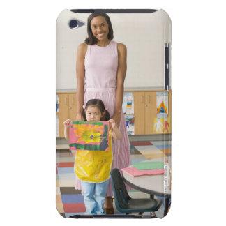 絵画の女の子(3-5)による子供部屋の先生、 Case-Mate iPod TOUCH ケース