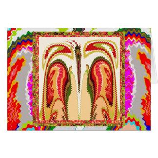 絵画の精神的な永遠に続く喜び カード