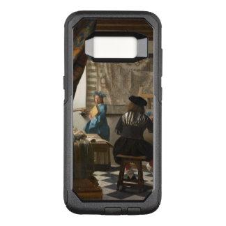 絵画のVermeerの芸術 オッターボックスコミューターSamsung Galaxy S8 ケース