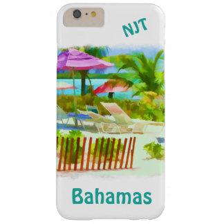 絵画的なバハマの夏期休暇のビーチ場面 BARELY THERE iPhone 6 PLUS ケース