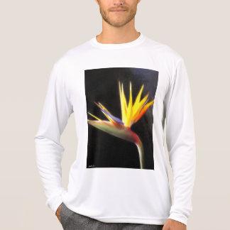 絵画的な花3極楽鳥を切って下さい Tシャツ