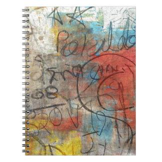 絵画的な走り書き ノートブック