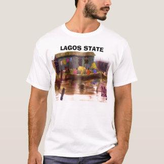 絵画4aのコピー、ラゴスの国家 tシャツ