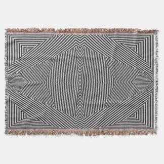 絶妙な曼荼羅によって編まれる芸術毛布 スローブランケット