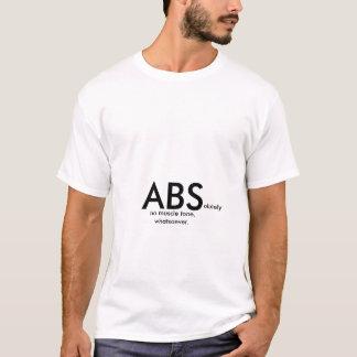 絶対に筋肉調子無しどんなTシャツ Tシャツ