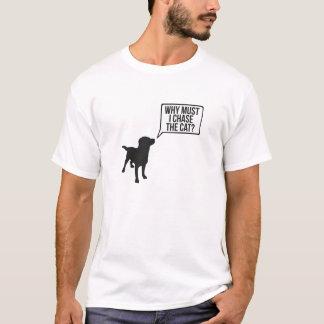 絶対必要が私猫をなぜ追跡するか Tシャツ