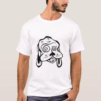 絶対必要におっちょこちょいのな犬のワイシャツがあります Tシャツ