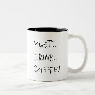 絶対必要….飲み物の…コーヒー! ツートーンマグカップ