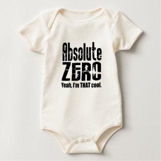 絶対零度の幼児オーガニック ベビーボディスーツ