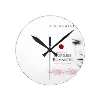 絶望的でロマンチックな時計 ラウンド壁時計