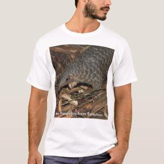 絶滅のTシャツからセンザンコウを救って下さい Tシャツ