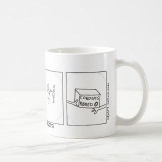 絶滅危ぐ種の勉強 コーヒーマグカップ