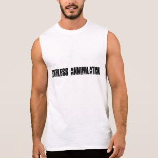 絶滅 袖なしシャツ